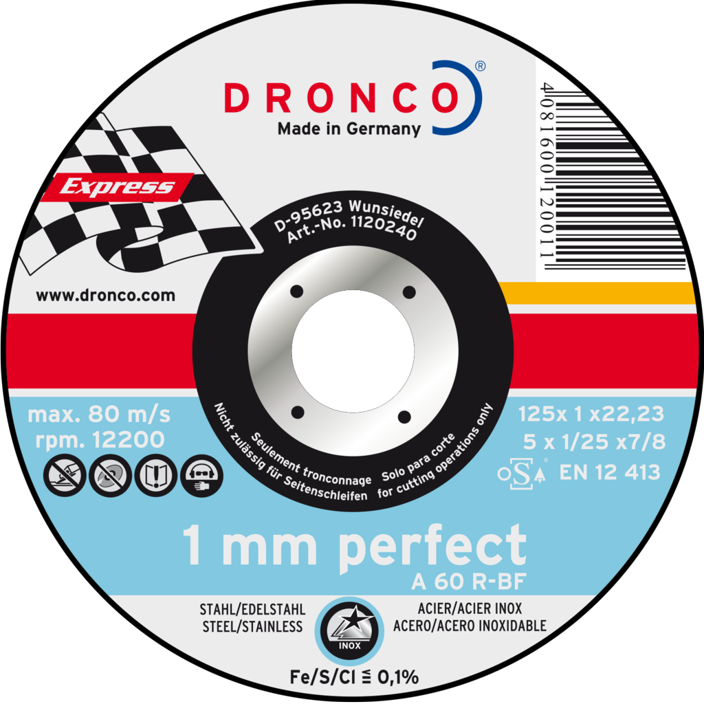 Griežamie diski metālam/nerūsējošam tēraudam